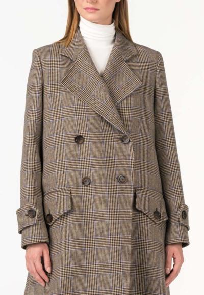 Varteks Prince de Galles dugi ženski kaput