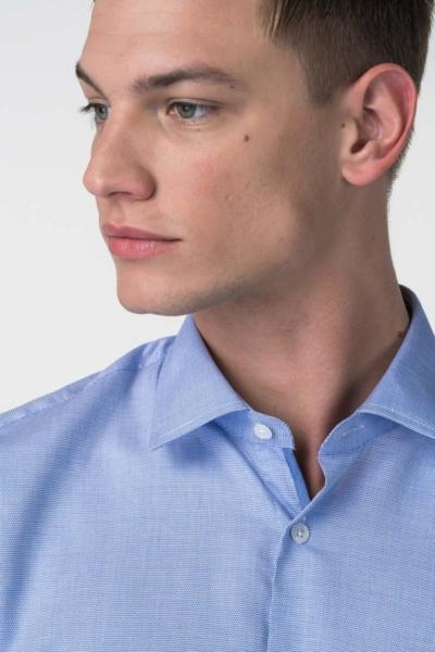 Varteks Men's micro pattern shirt - Slim fit