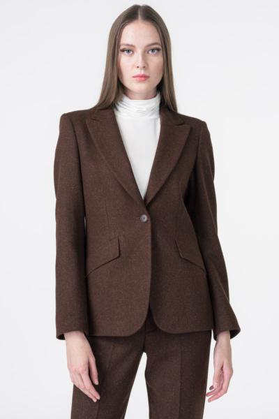 Varteks Women's cinched suit blazer