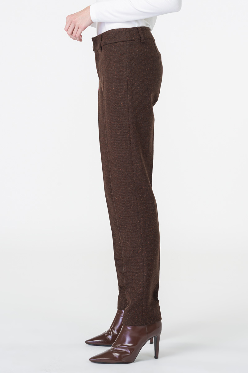 Varteks Ženske smeđe hlače od kompleta