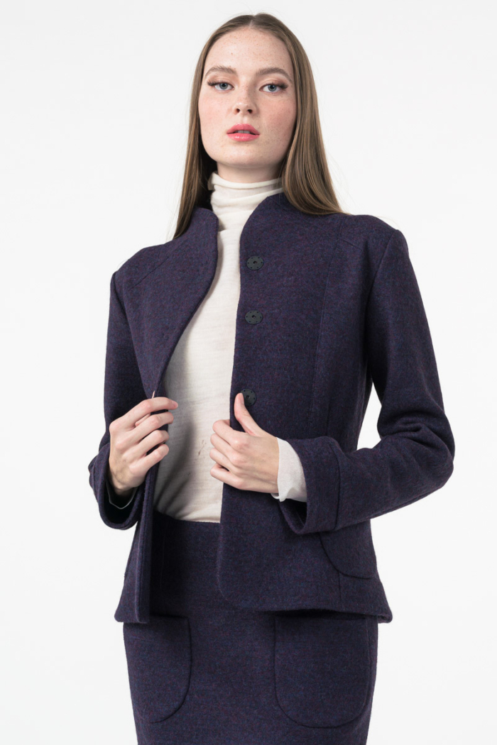 Varteks Women's short length wool jacket