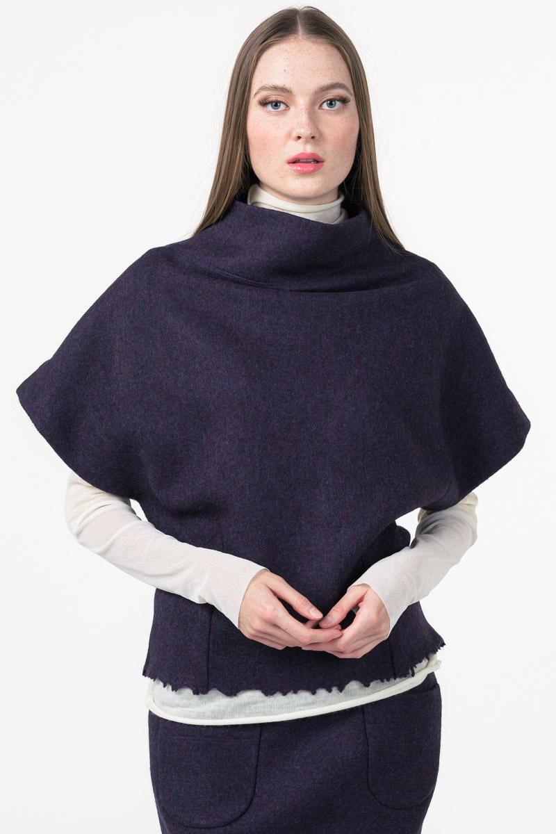 Varteks Short sleeved wool jumper