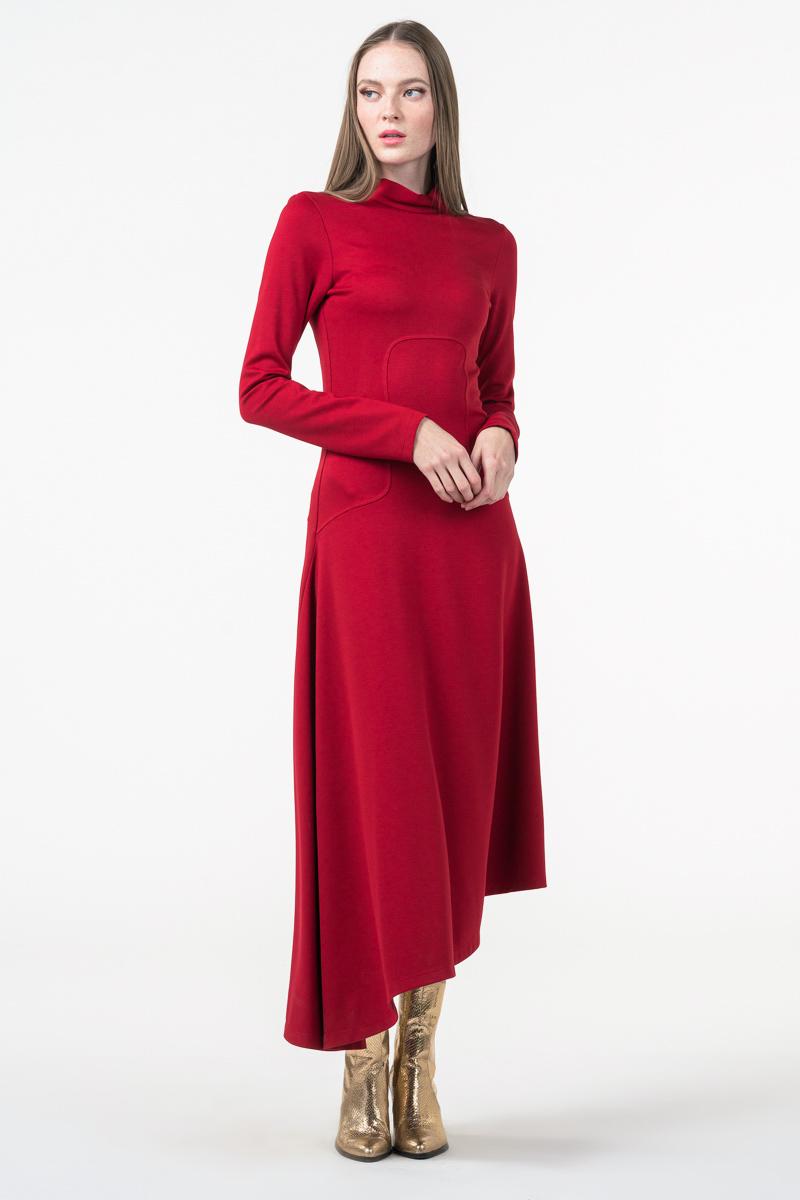 Varteks Dolčevita haljina crvene boje