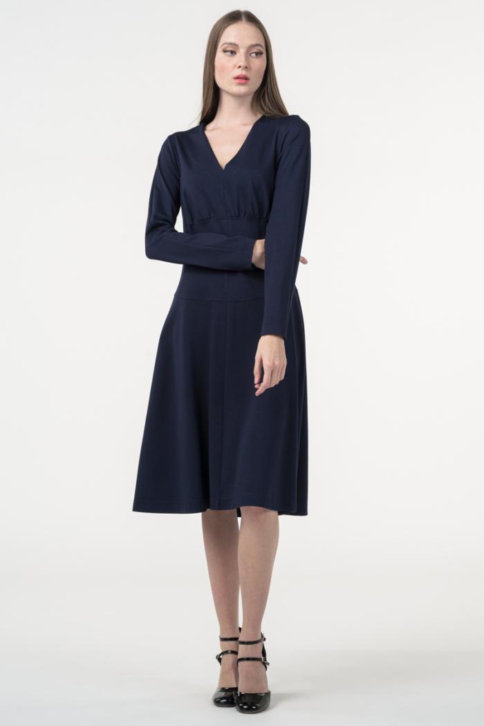 Varteks Ženska haljina tamno plave boje