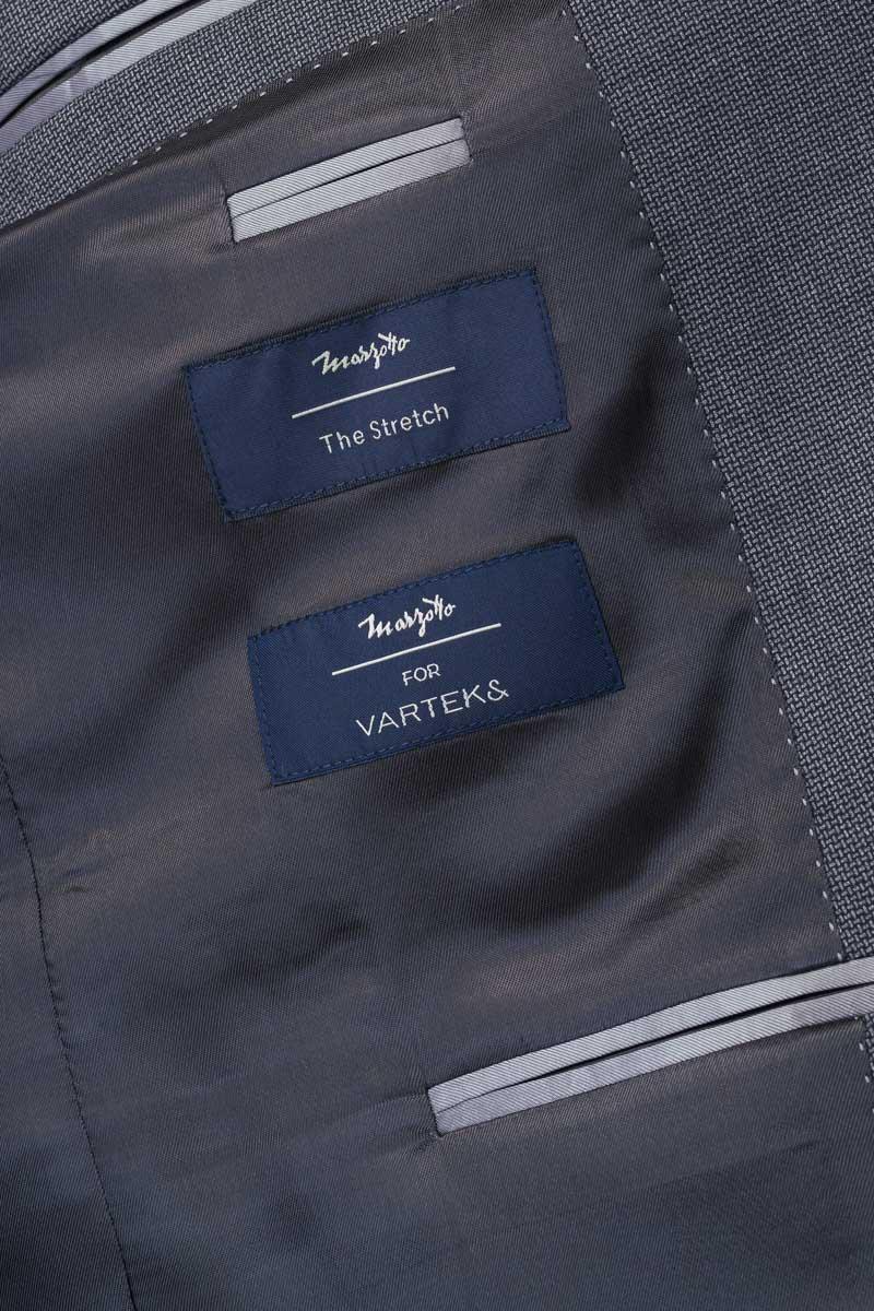 Varteks Grey men's blazer - Regular fit