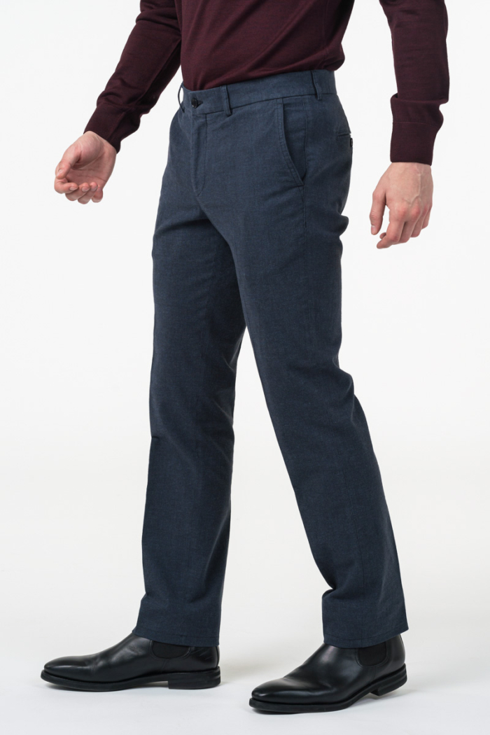 Varteks Men's cotton pant suit - Regular fit
