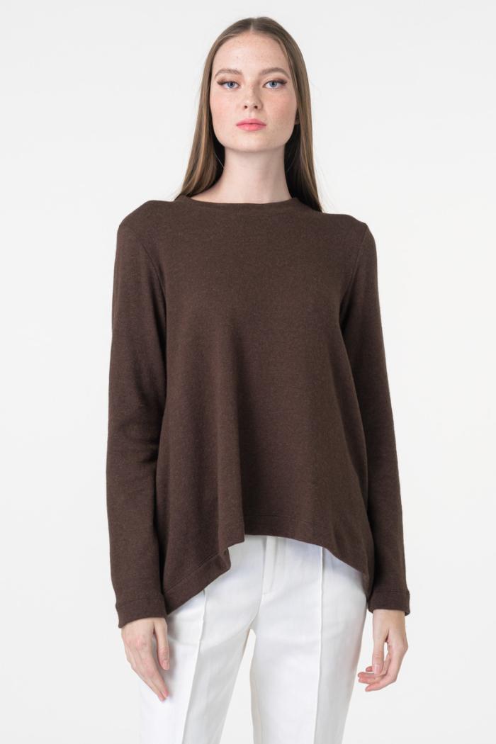 Varteks knitter jumper dark brown color