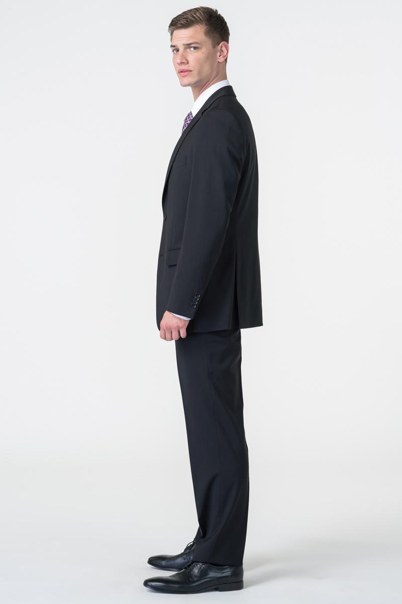 Varteks Men's black suit pants - Comfort fit