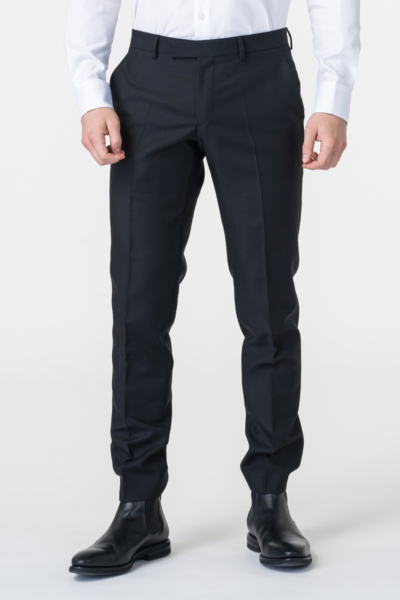 Varteks Limited Edition - Men's black suit pants - Regular fit