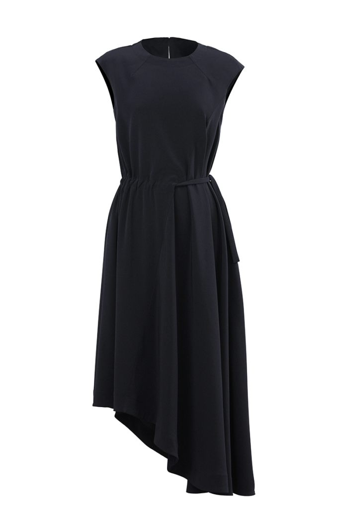 Varteks Navy blue sleeveless dress
