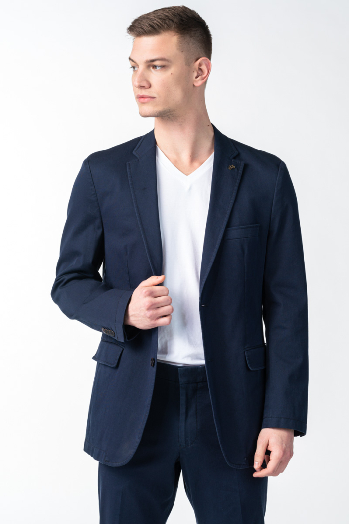 Varteks Men's cotton blazer two colors - Comfort fit