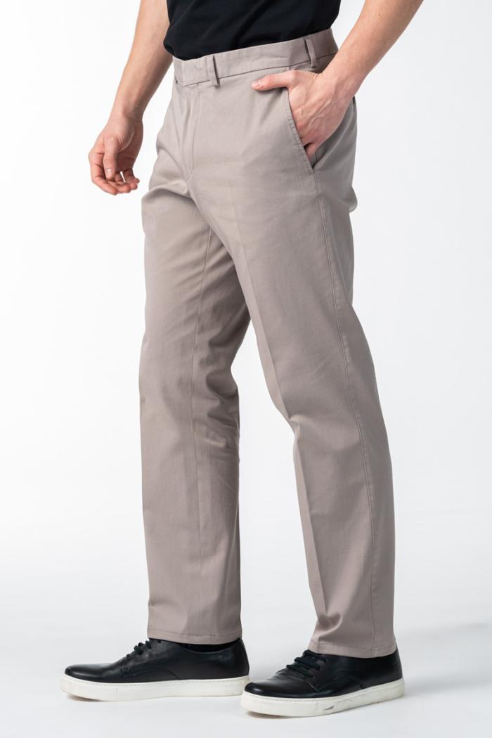 Varteks Men's cotton suit pants two colors - Comfort fit