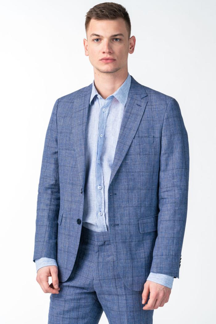 Varteks Men's blue blazer - Regular fit