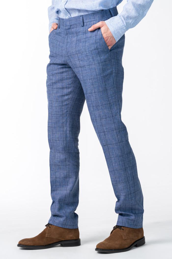 Varteks Men's blue suit pants - Regular fit