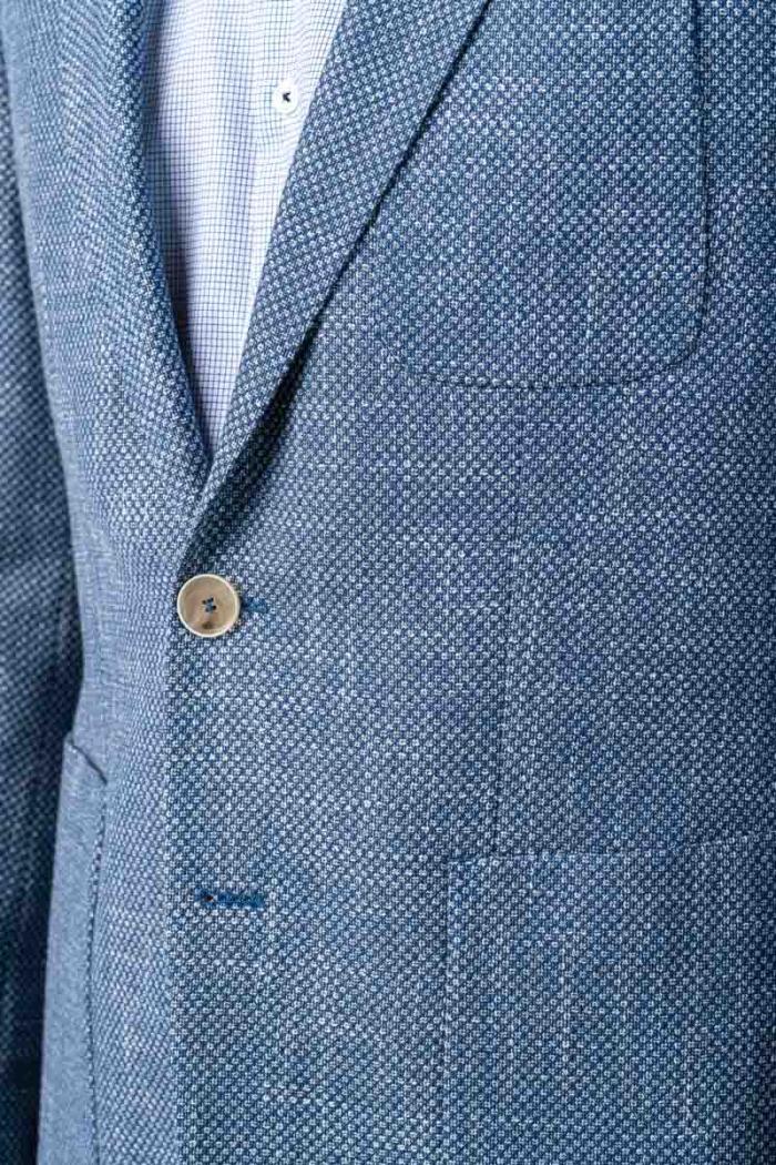 Varteks Plavi muški sako s decentnim dezenom - Regular fit