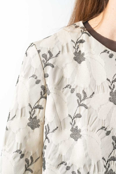 Varteks Women's short blazer with flower print