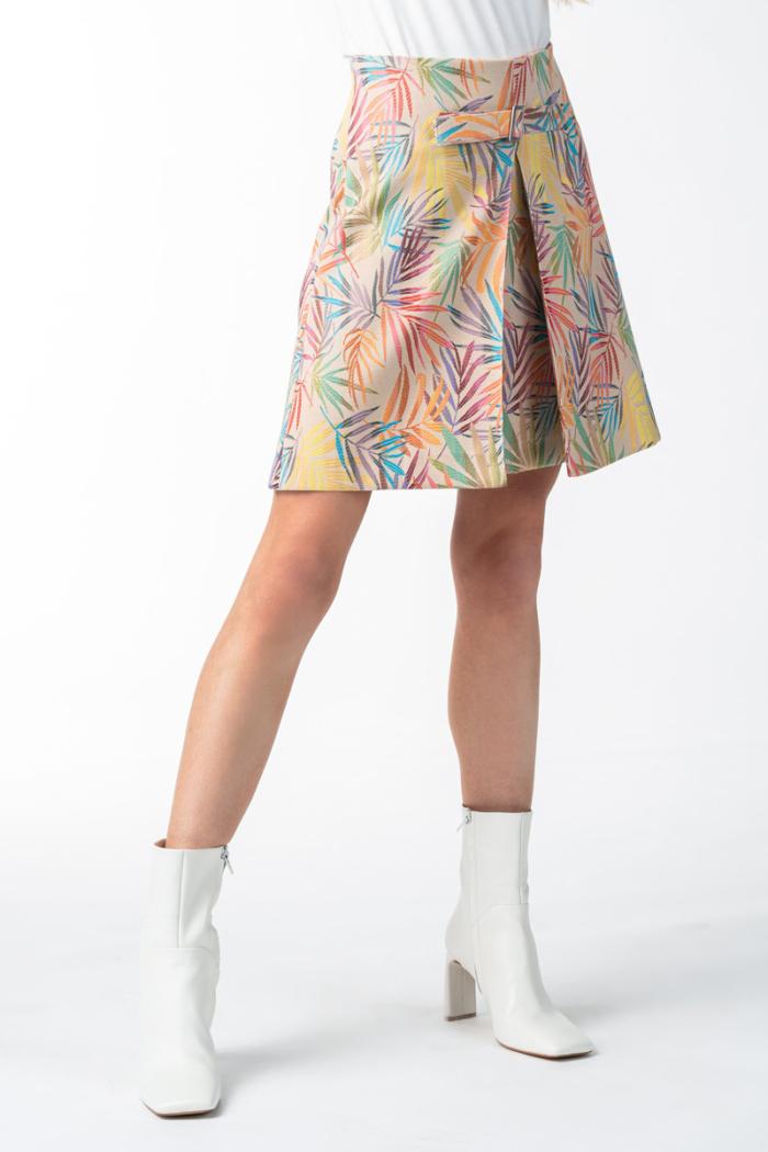 Varteks Ženska kratka suknja šarenog uzorka