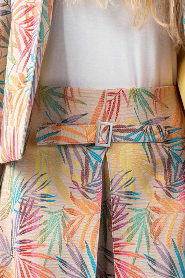 Varteks - Ženska kratka suknja šarenog uzorka