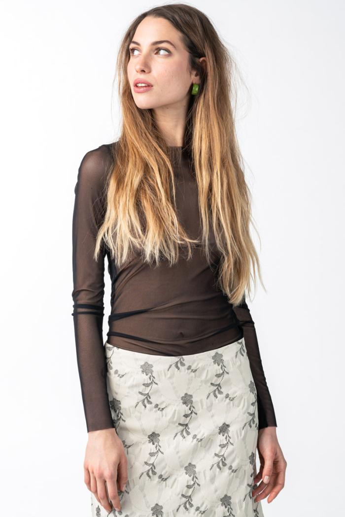Varteks - Ženska lagana prozirna majica u dvije boje