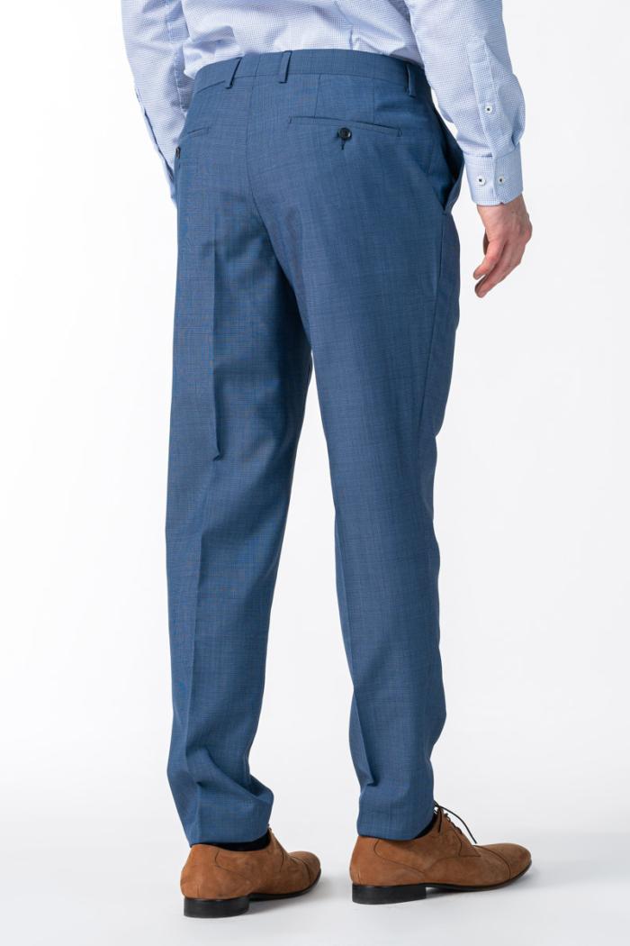 Varteks Muške srednje plave hlače od odijela - Regular fit