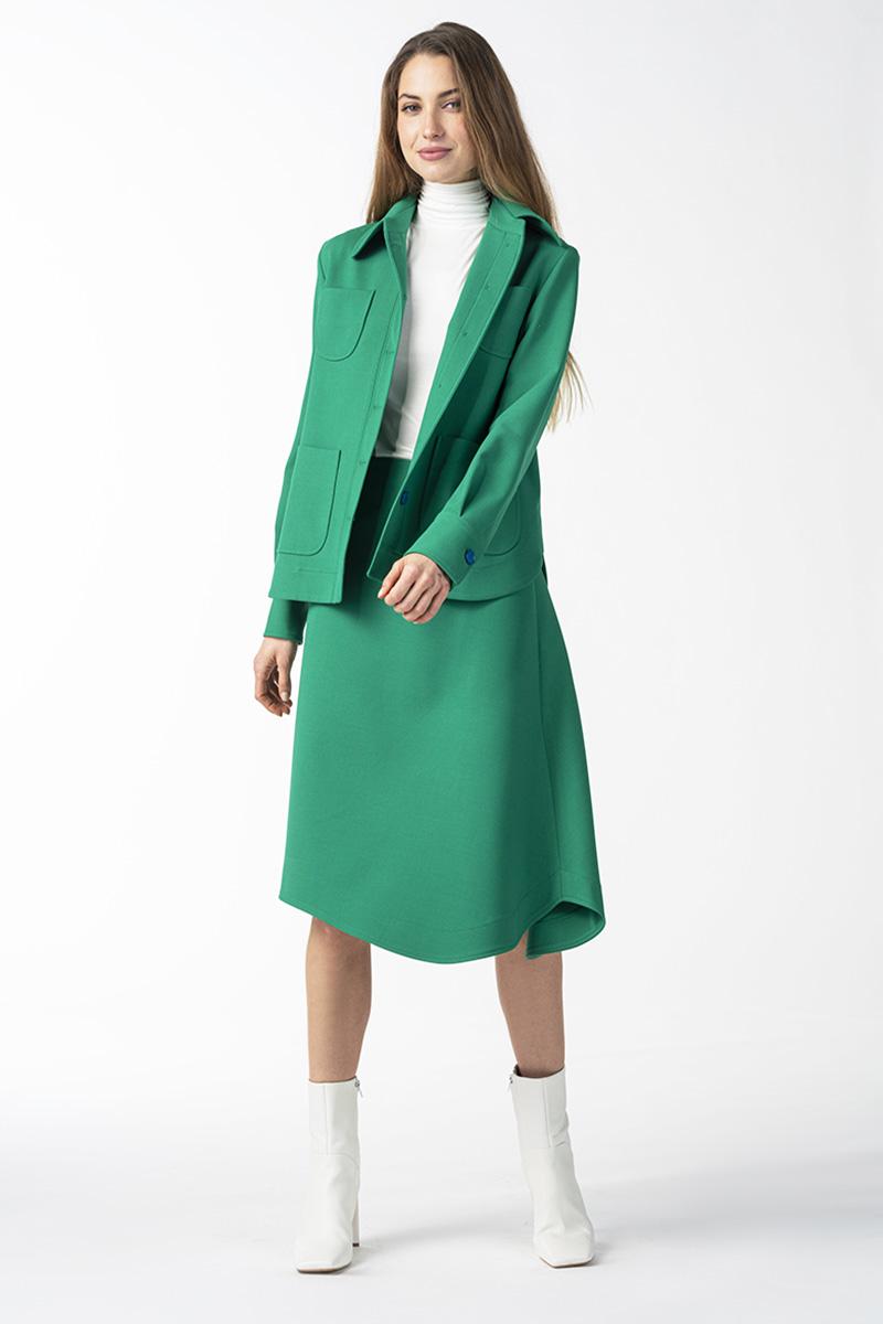 Varteks Smaragdno zelena suknja