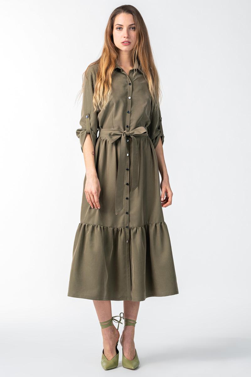 Varteks Maslinasto zelena haljina