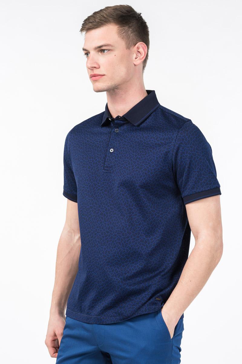 Varteks Muška polo majica mornarsko plave boje