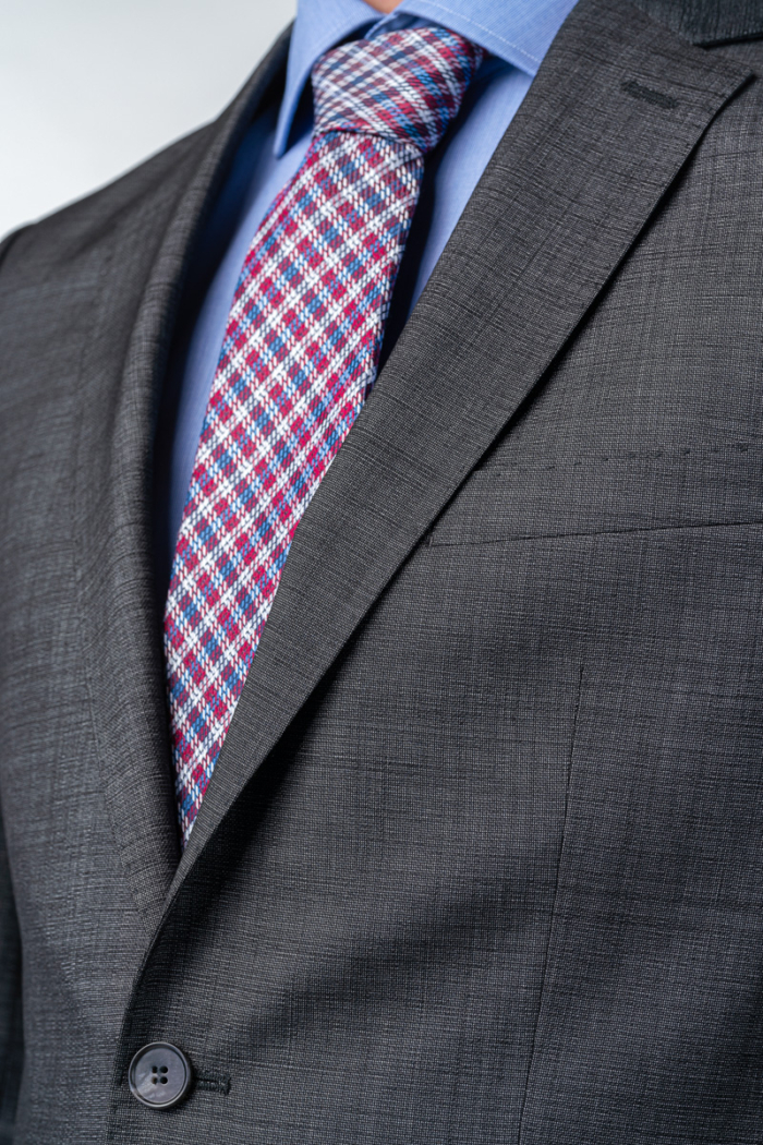 Varteks Men's grey ViralOff blazer - Regular fit