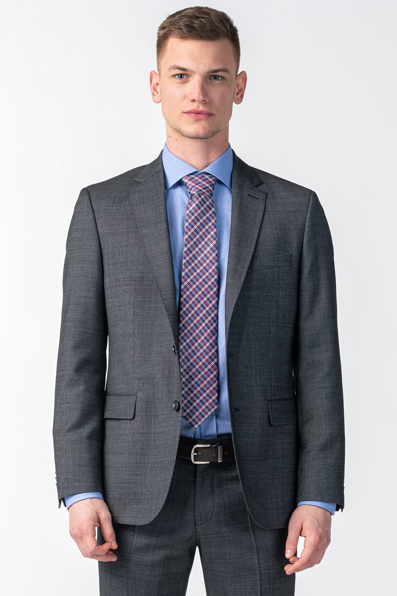 Varteks Muški sivi sako s anitvirusnim zaštitom - Regular fit