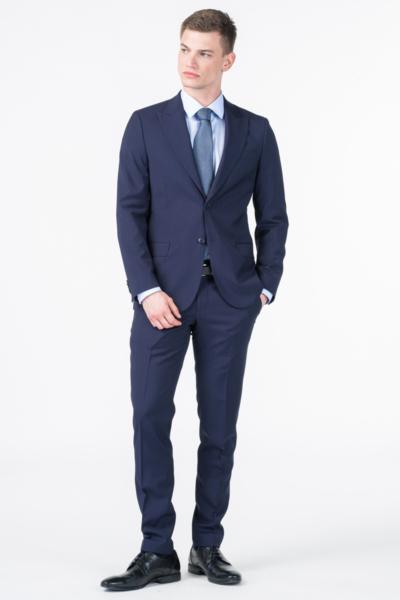 Varteks Sailorly blue trousers - Slim fit