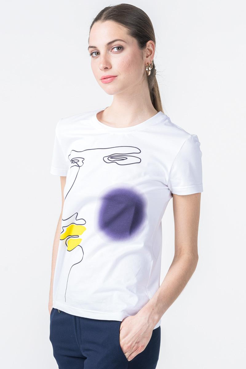 Ženska majica kratkih rukava s printom