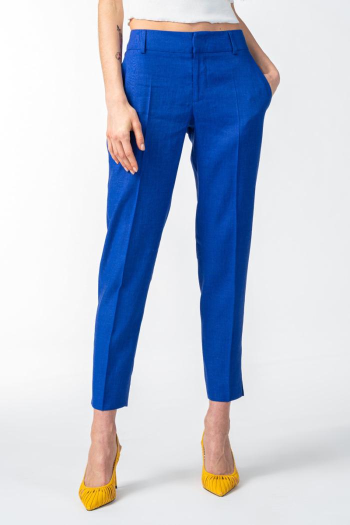 Varteks Ženske 7/8 indigo plave hlače