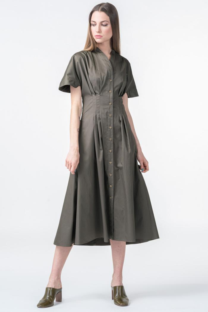 Pamučna haljina u dvije boje