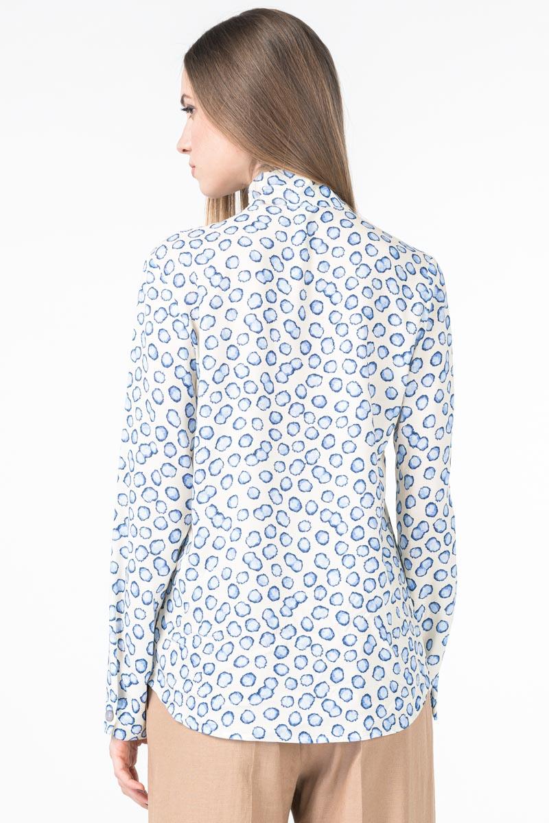 Varteks Bijela ženska bluza s uzorkom mjehurića