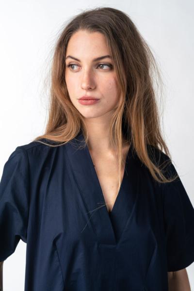 Varteks Women's navy blue dress relaxed fit