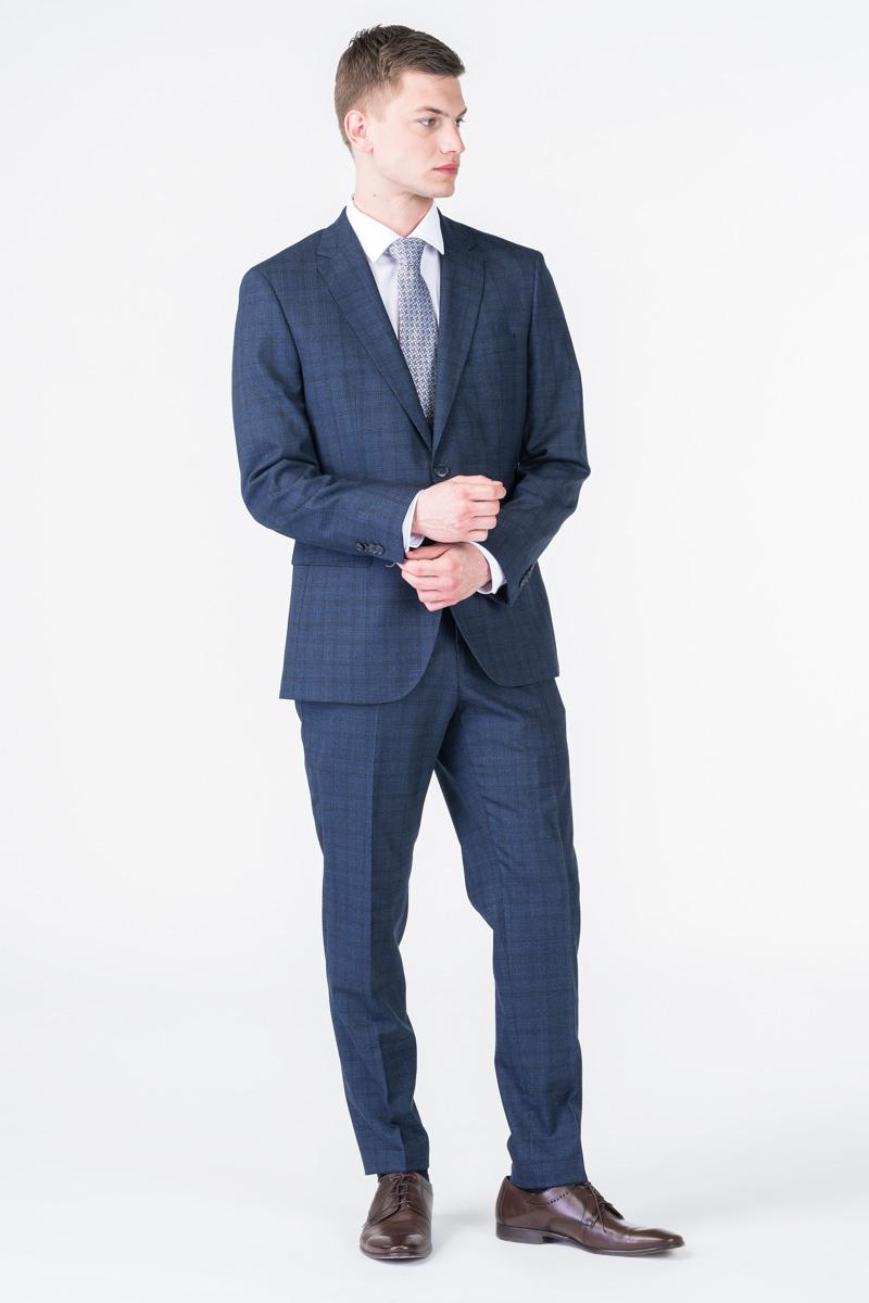 Limited Edition - Decentno karirane hlače od odijela - Regular fit