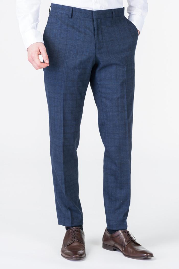 Varteks Limited Edition - Decentno karirane hlače od odijela - Regular fit