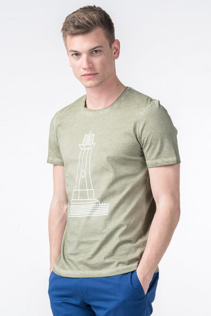 Varteks Muška majica s motivom svjetionika