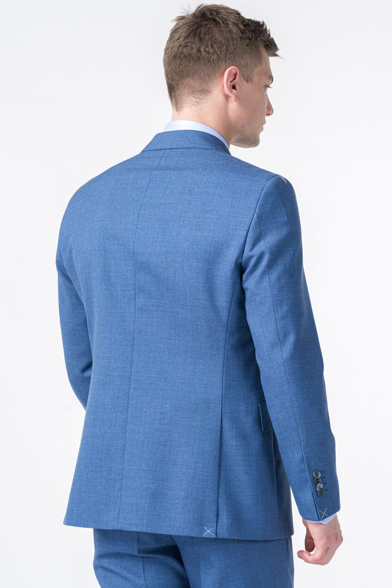 Limited Edition - Muški plavi sako od odijela - Regular fit