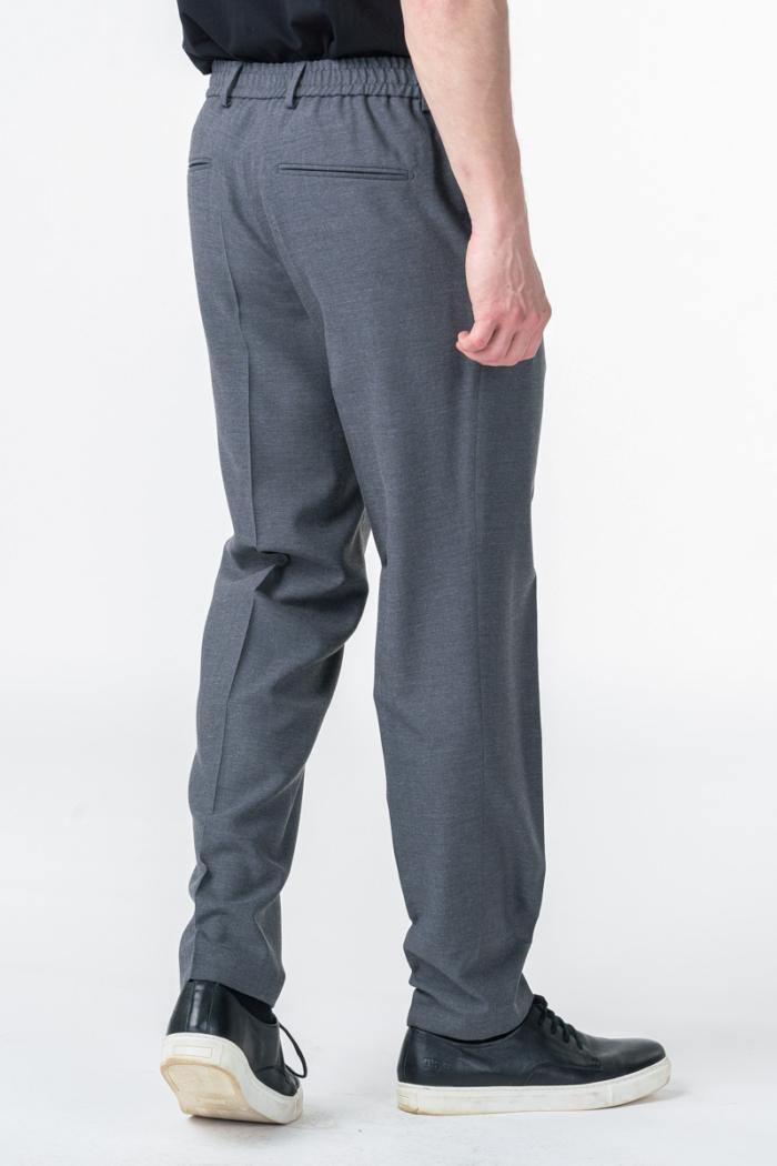 Varteks Sive hlače od odijela na vezanje- Slim fit