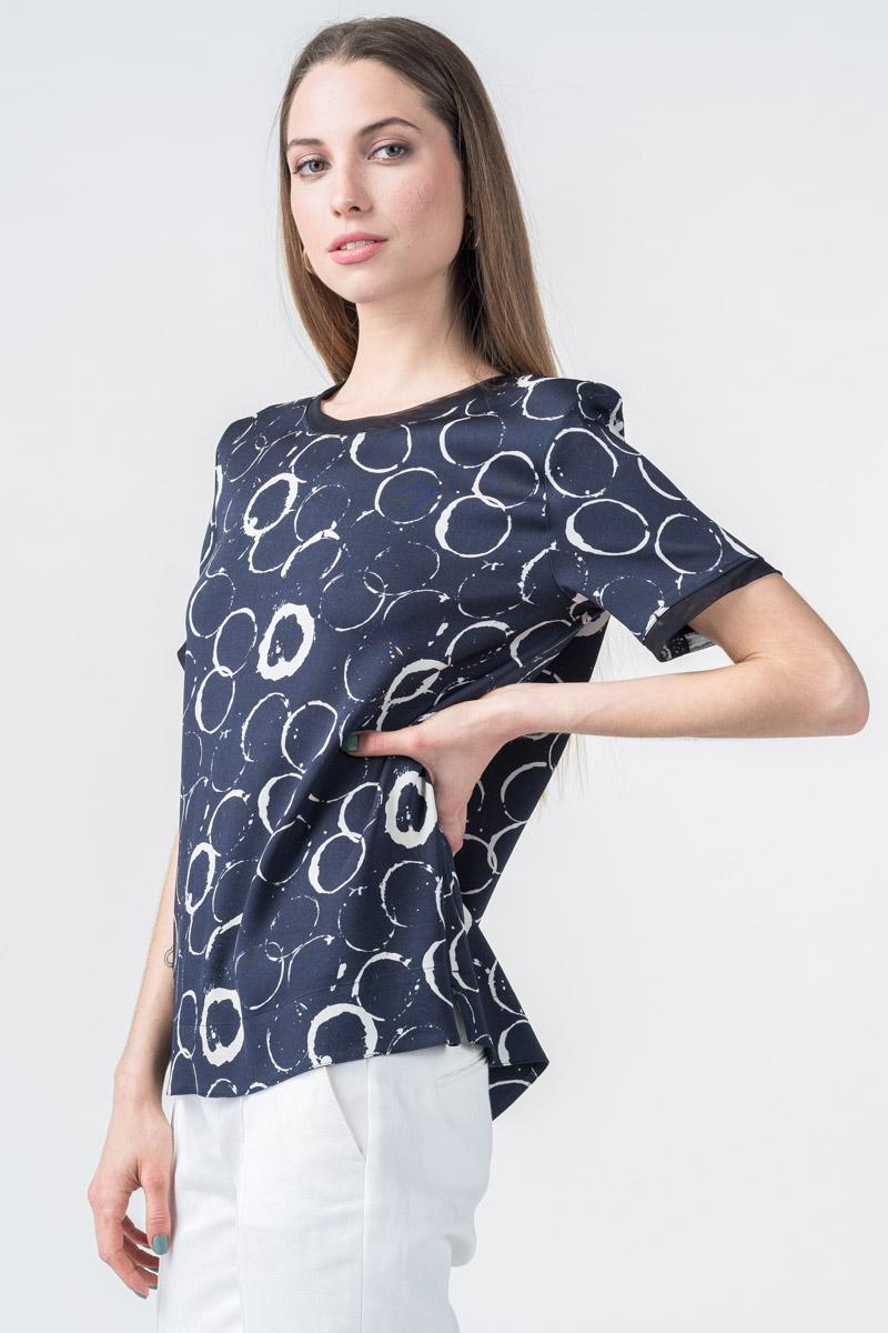 Varteks Ženska kratka majica s uzorkom