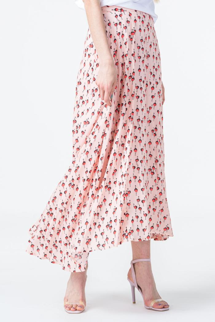 Varteks Ženska roza suknja asimetričnog kroja