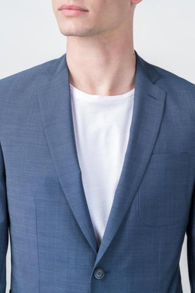 Varteks Blue blazer virgin wool - Regular fit