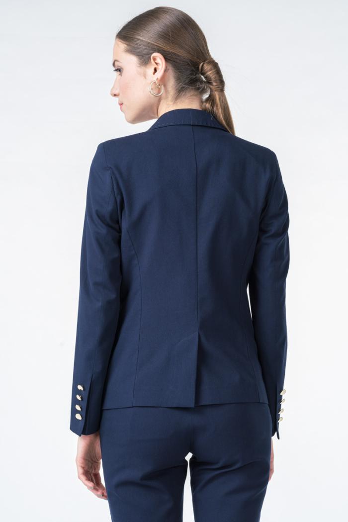 Klasični ženski tamno plavi sako