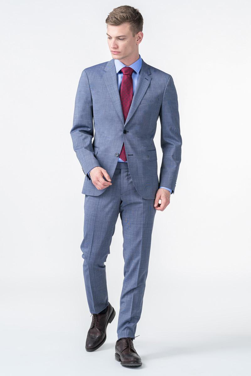 Varteks Plave muške hlače od odijela - Slim fit