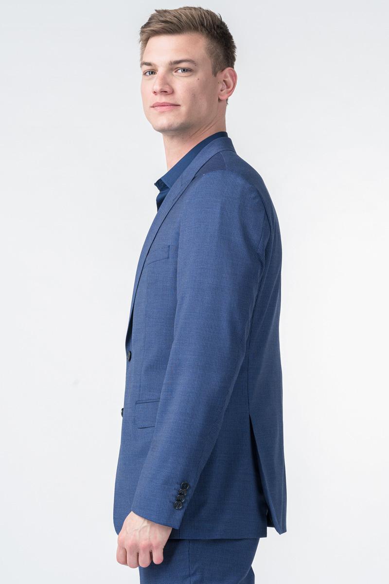 Muški decentno prugasti sako od odijela - Regular fit