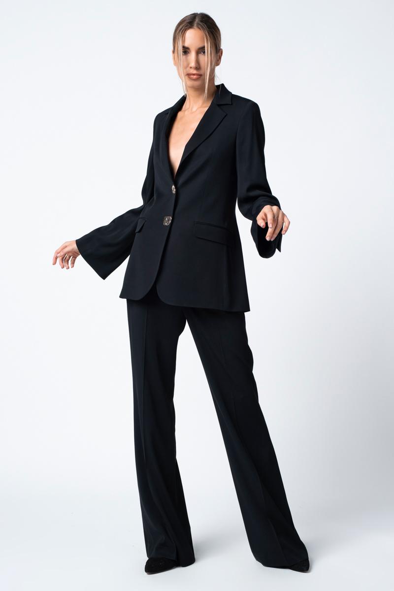 Elegant black women's trousers